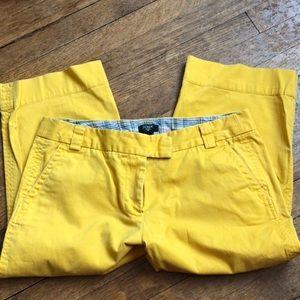J Crew cropped favorite fit Capri pants sz 10